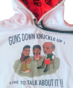GUNS DOWN KNUCKLE UP HOODIE