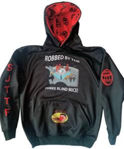 Robed-hoodie